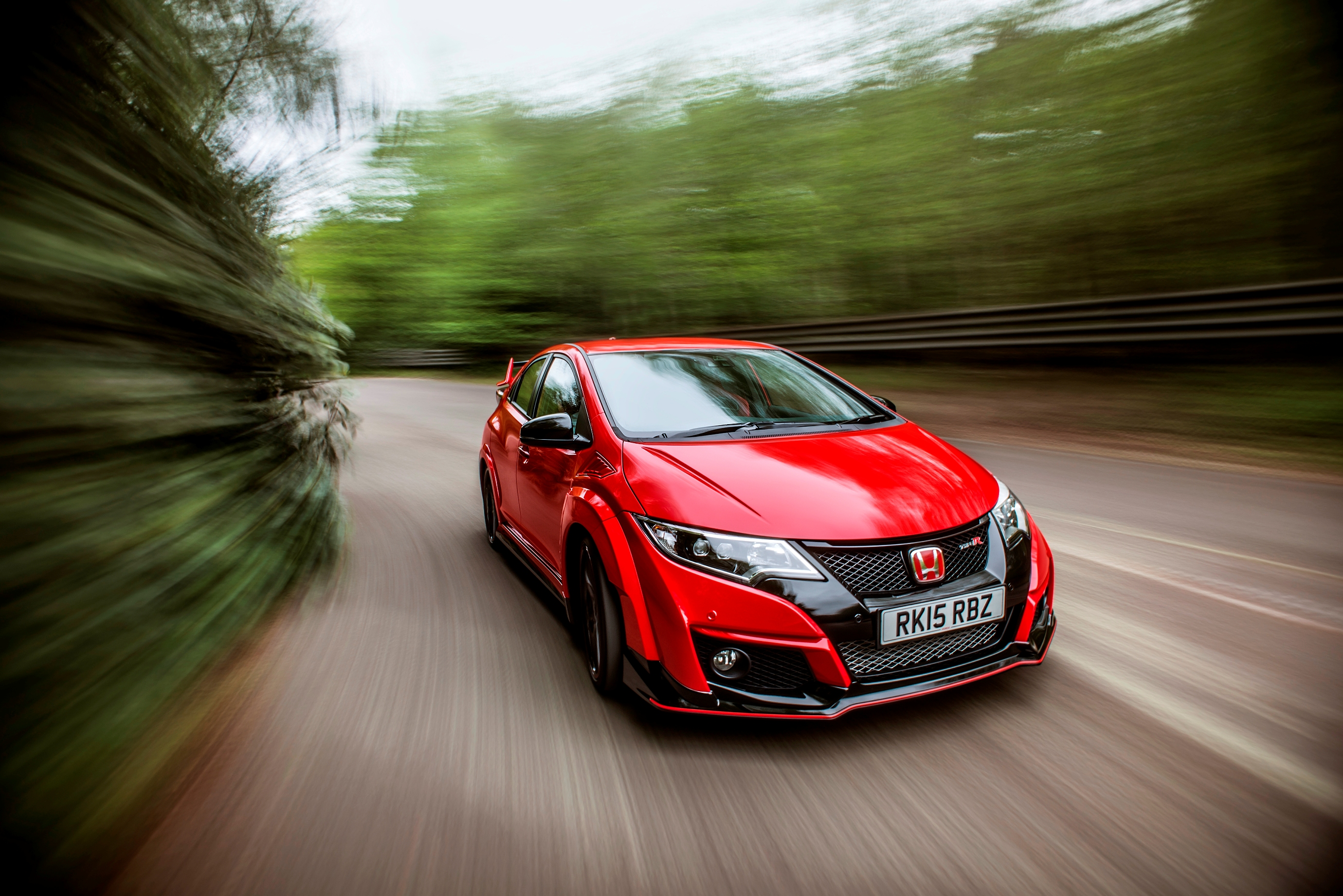 Delightful Civic Type R Red Rhd (14)