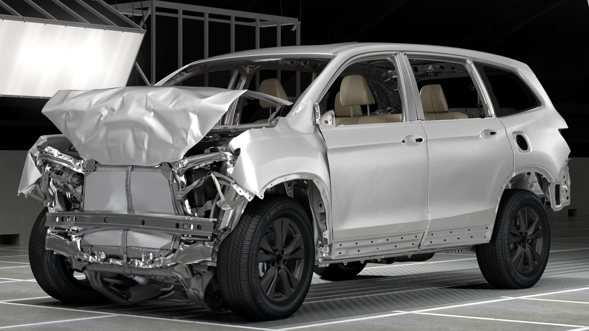 All New 2016 Honda Pilot Earns A 2015 Top Safety Pick