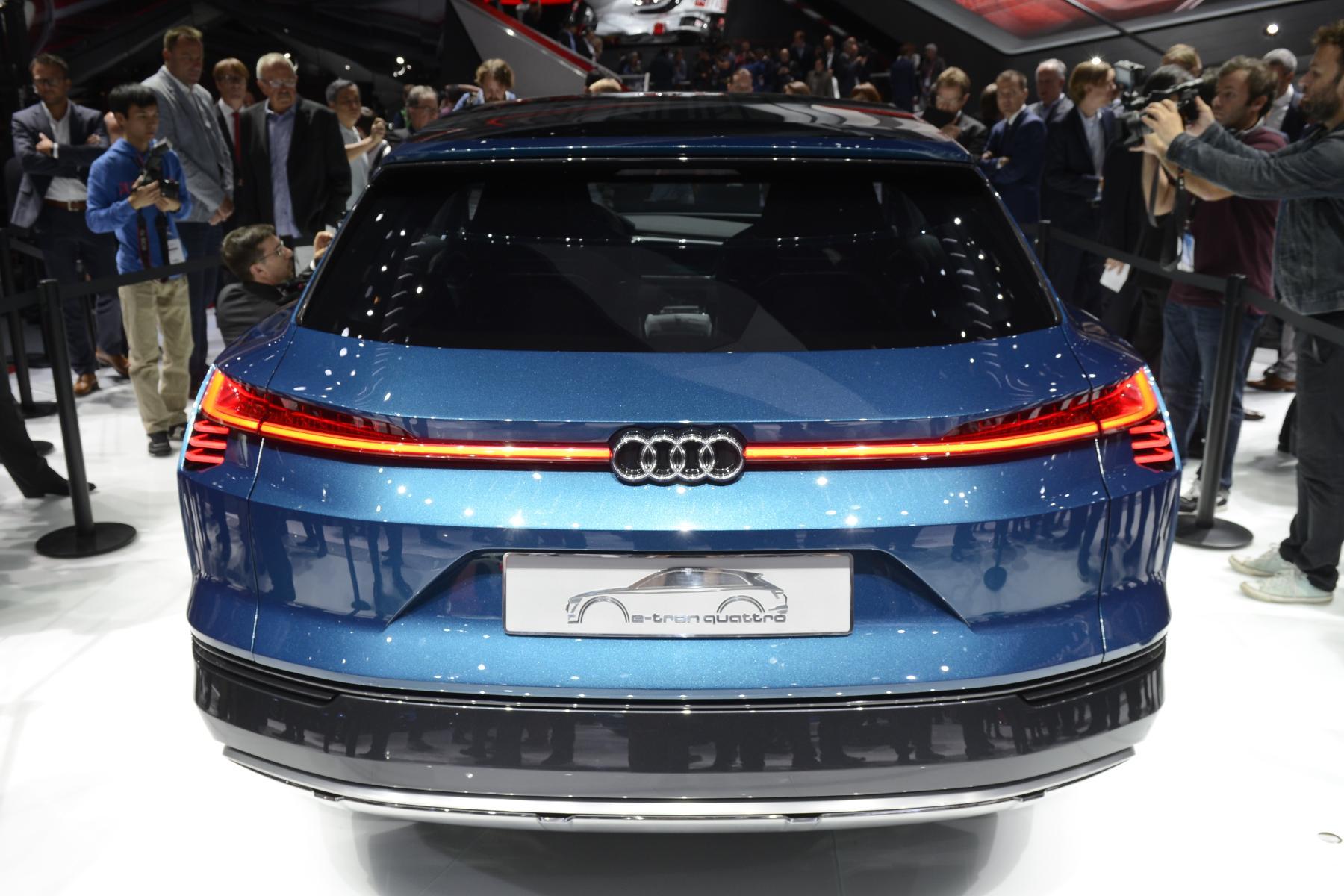 Audi e-tron quattro (rear)