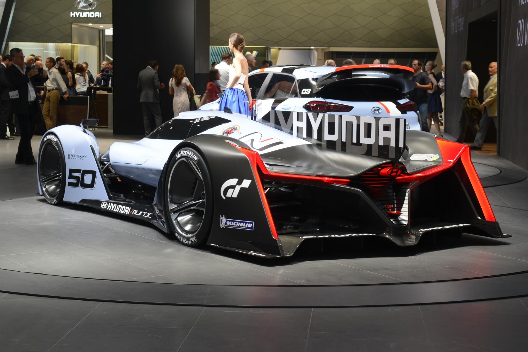 Hyundai N 2025 Vision Gran Turismo (rear)