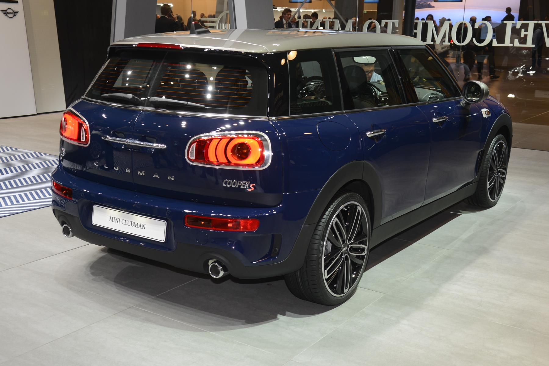 MINI Clubman Cooper S (rear)