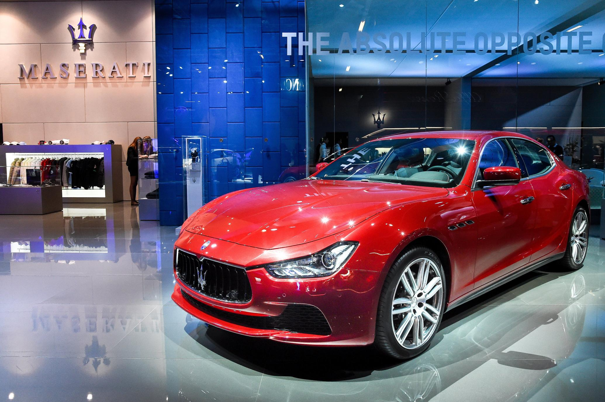 maserati at the frankfurt motor show. Black Bedroom Furniture Sets. Home Design Ideas
