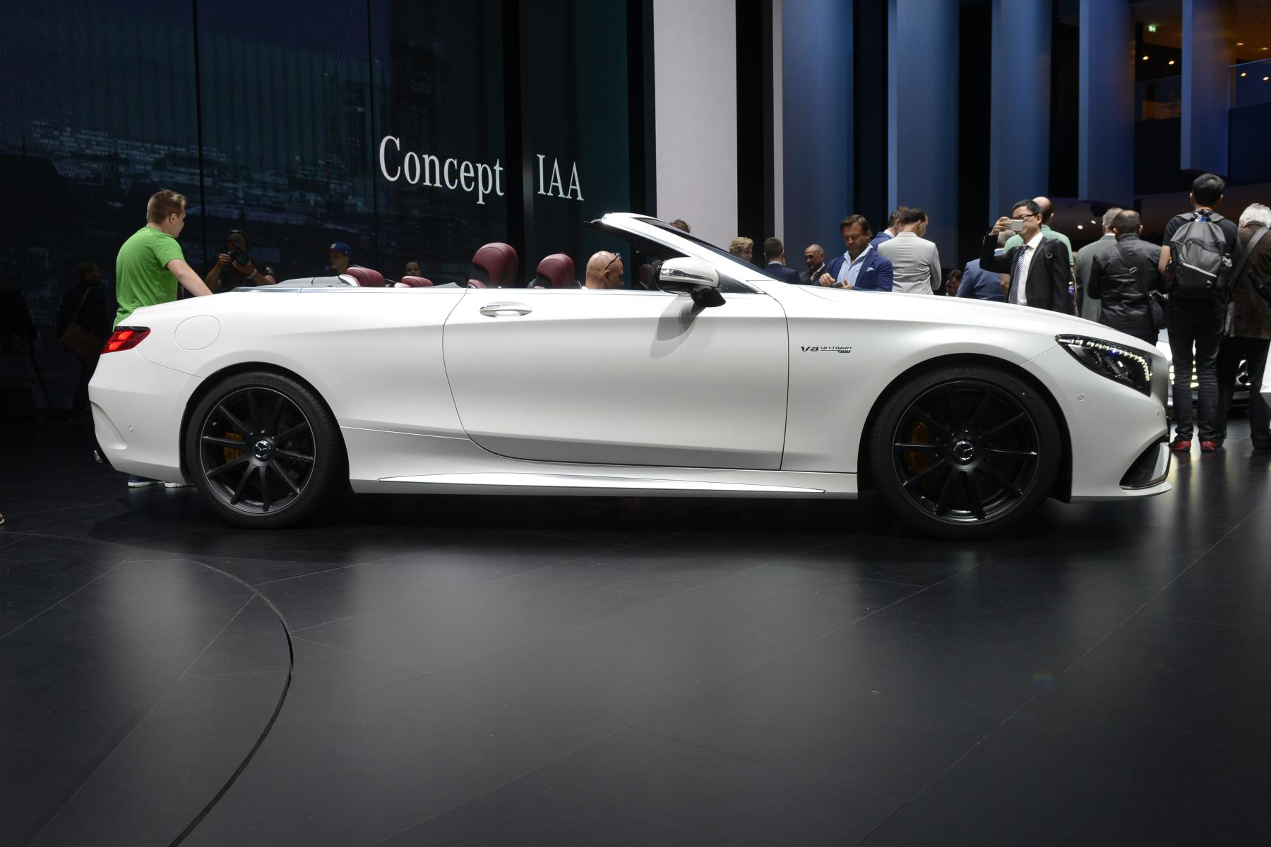 Mercedes-Benz S 63 AMG Cabriolet