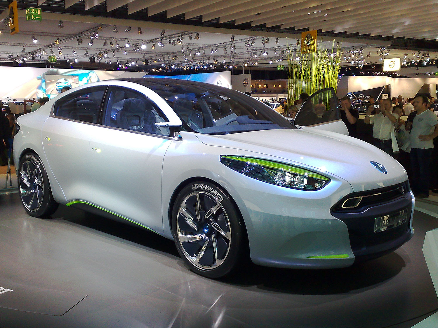The Renault Fluence Z.E. is an electric version of the Renault Fluence compact sedan, part of the Renault Z.E. program of battery electric vehicles.