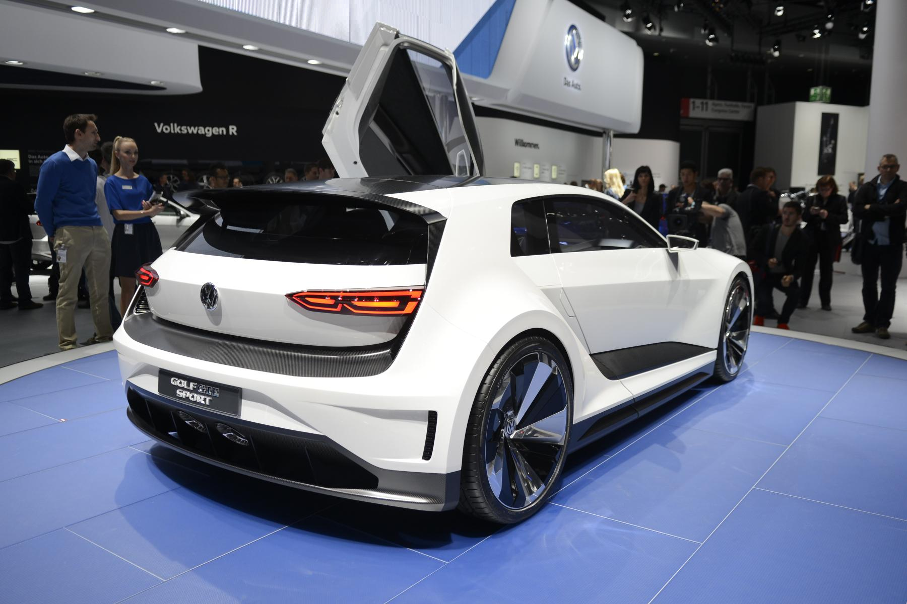 Volkswagen Golf GTI Clubsport (rear)