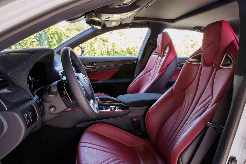 2016 lexus gs f performance sedan. Black Bedroom Furniture Sets. Home Design Ideas