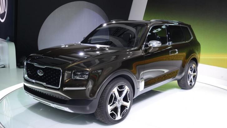 Kia Telluride Concept Makes World Debut Myautoworld