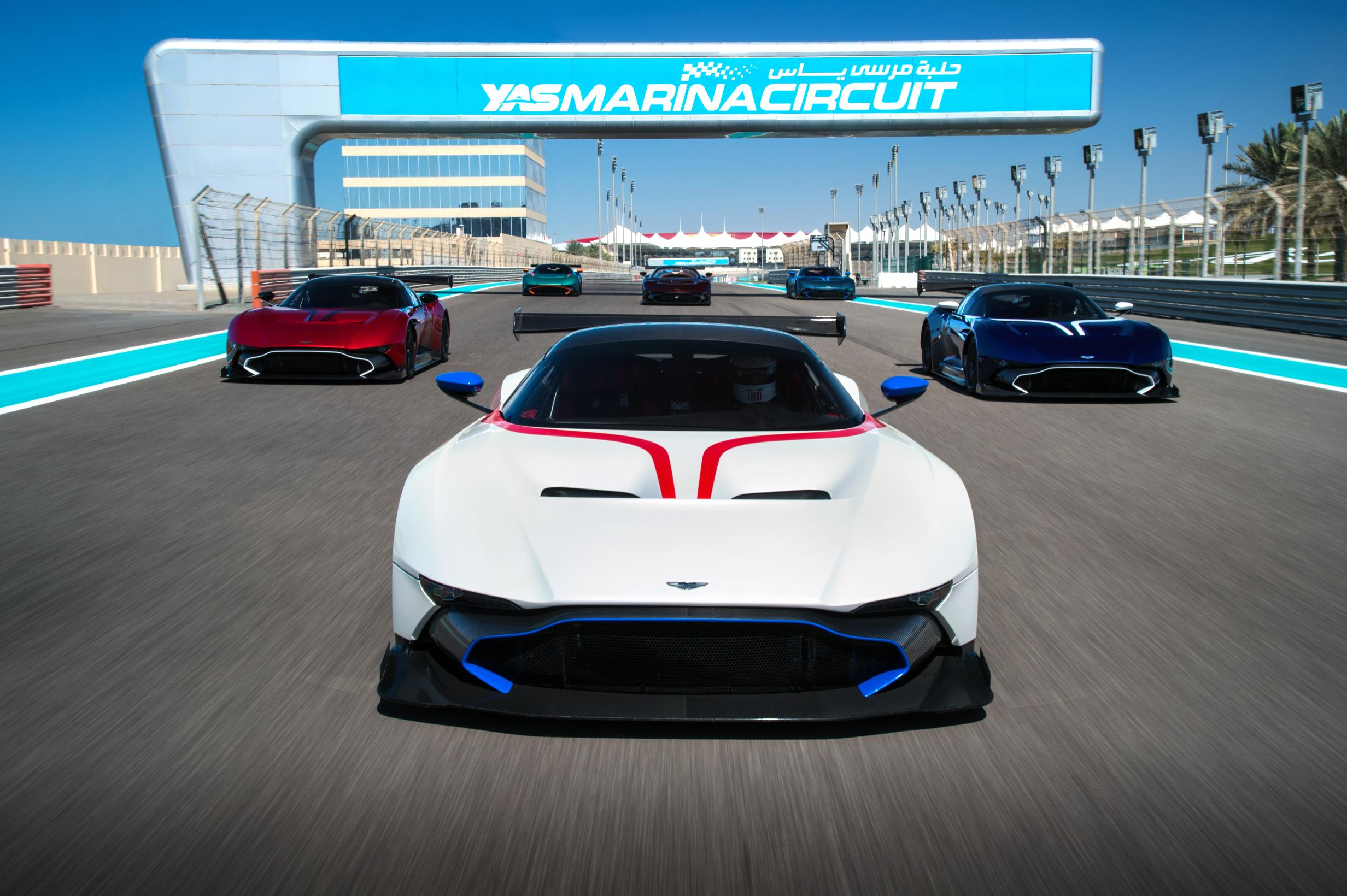 aston martin vulcan special delivery - myautoworld