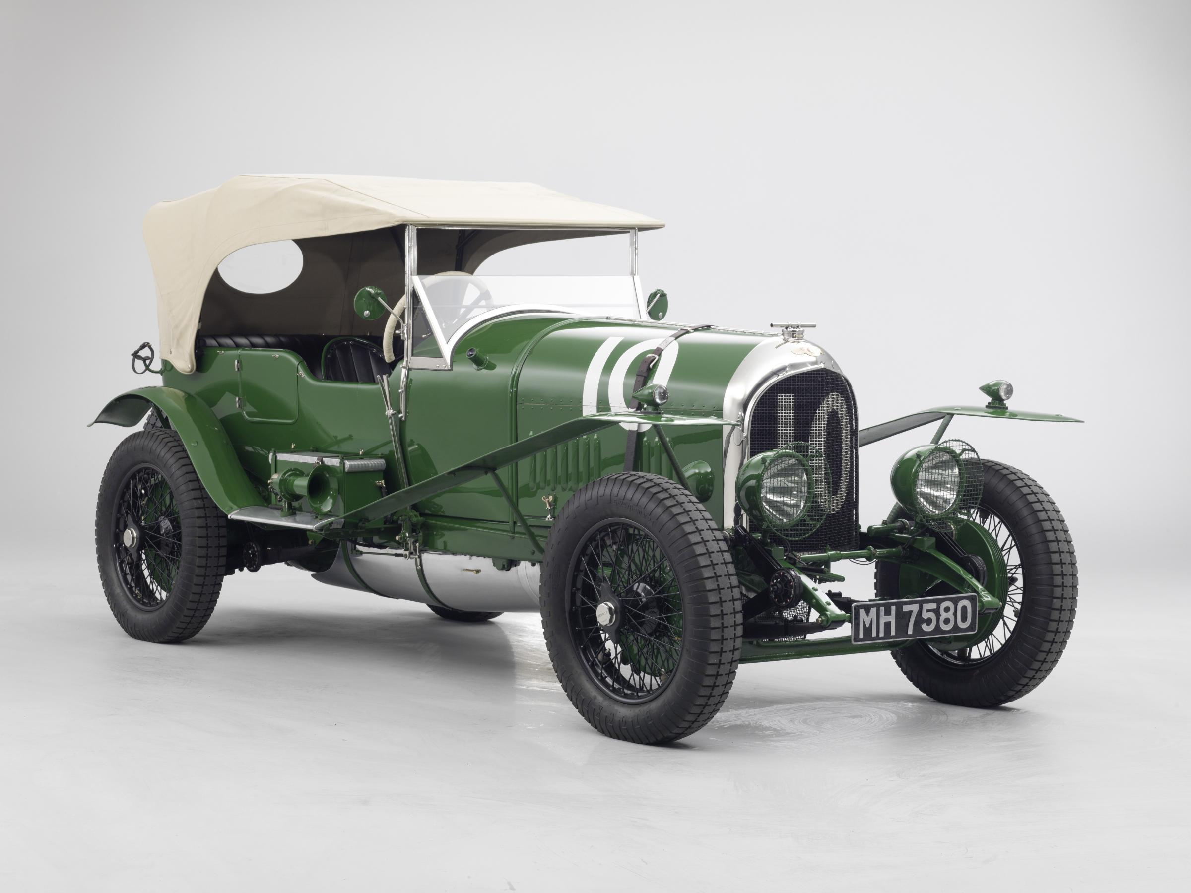 BENTLEY MOTORS FIRST LE MANS CAR TO STAR AT LONDON CLASSIC CAR SHOW ...
