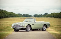 1968 Aston Martin DB6 Vantage Volante. One of 29 built. Finished in California Sage Green