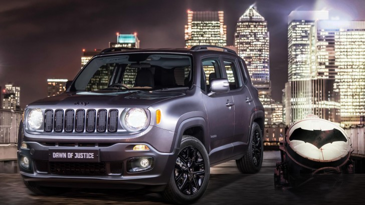 NEW JEEP RENEGADE DAWN OF JUSTICE LIMITED EDITION