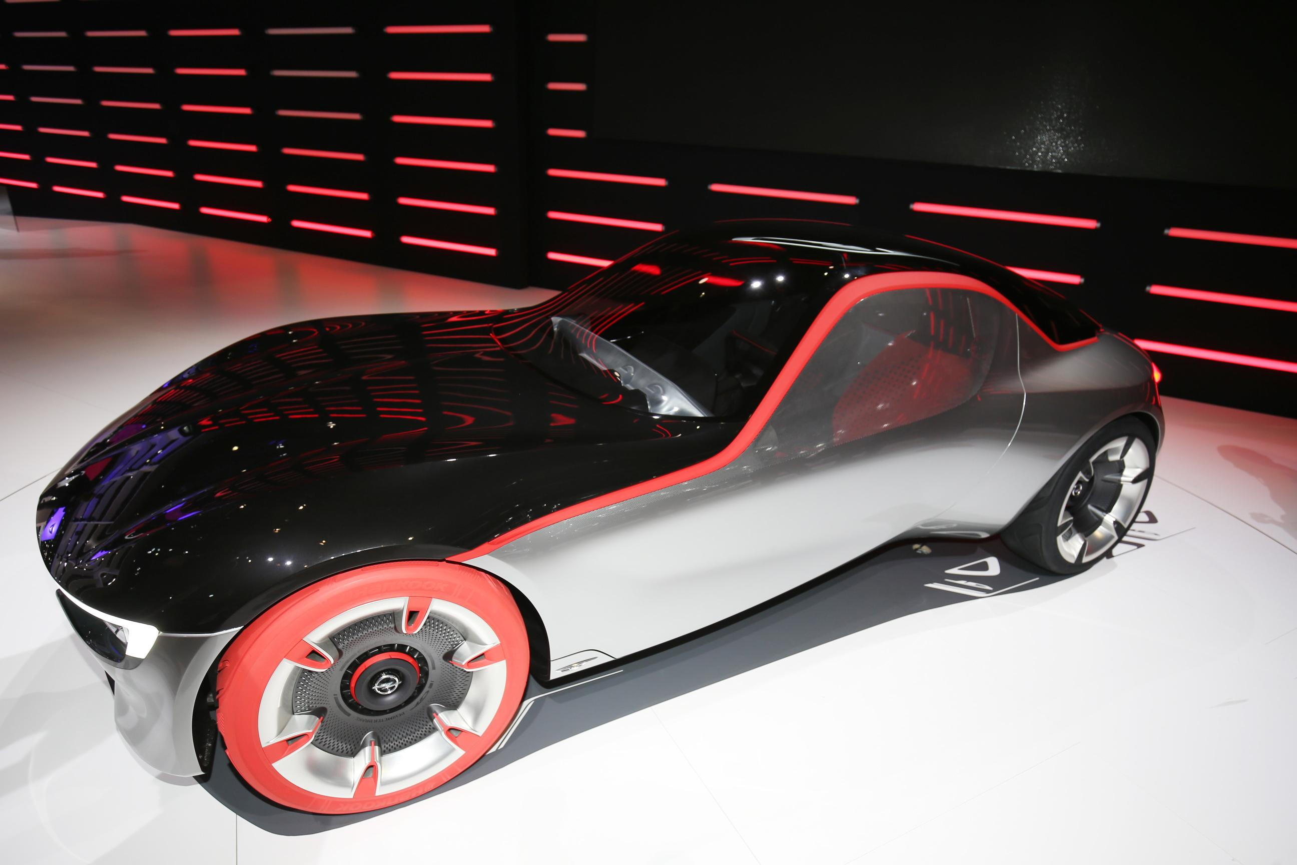 Opel Gt Concept Vauxhall Sports Car