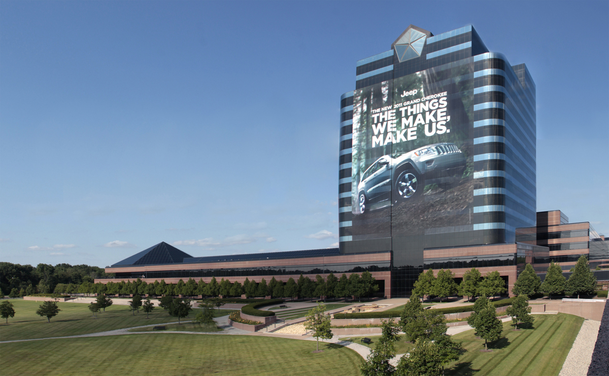 Chrysler Headquarters in Auburn Hills, Mich