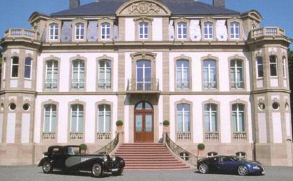Bugatti factory in Molsheim