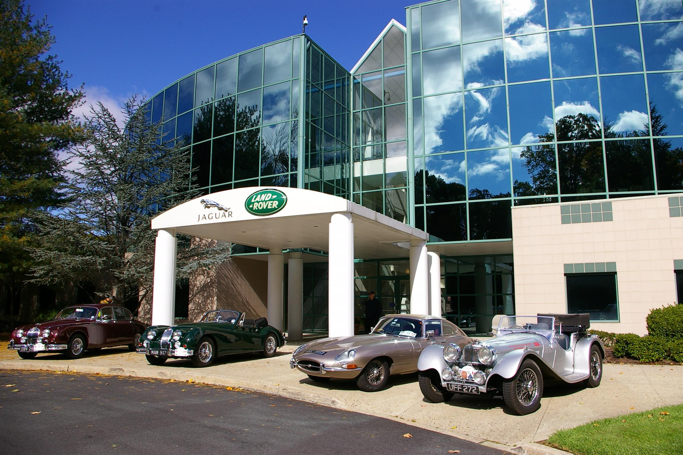 Jaguar north america headquarters