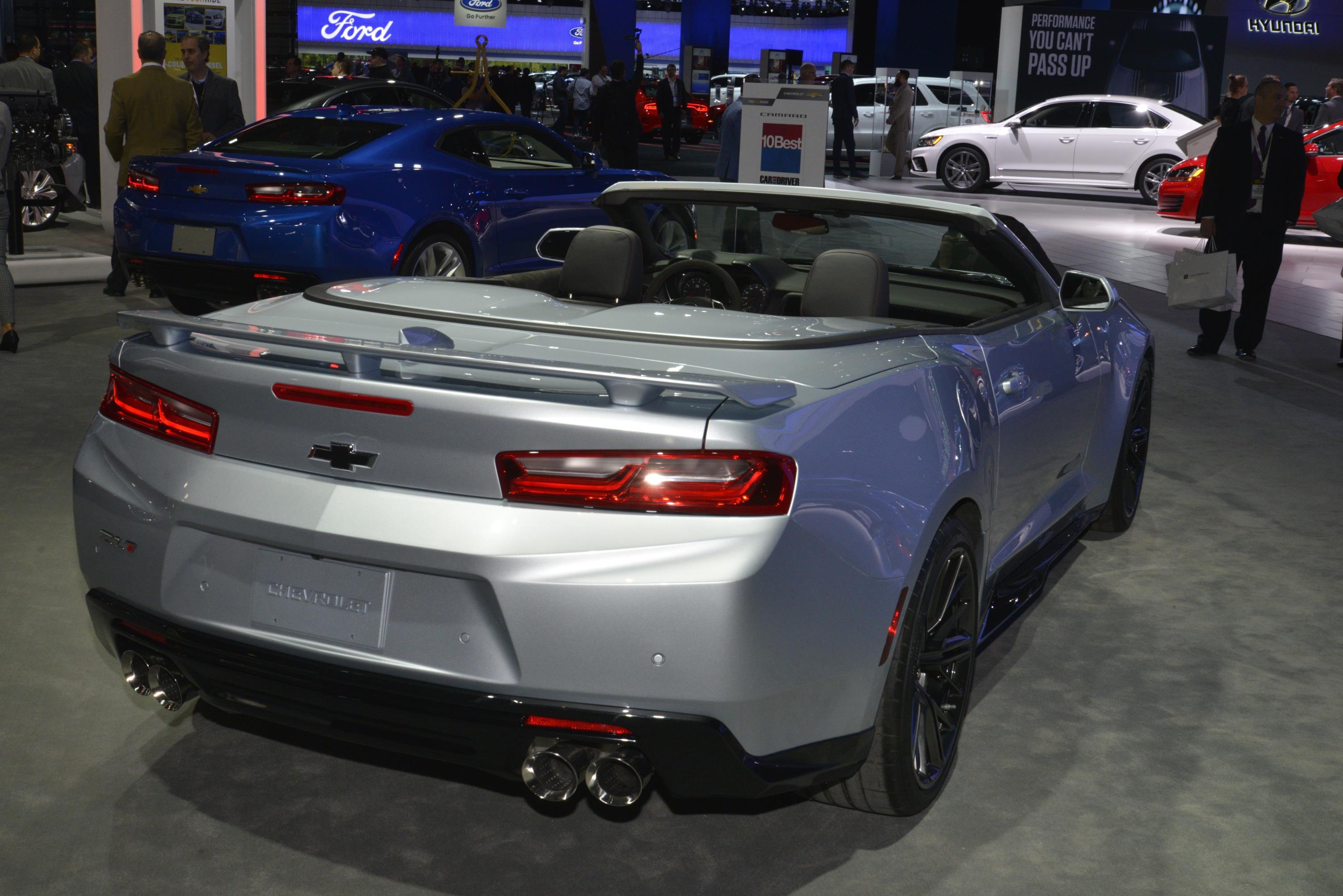 Chevrolet Camaro Zl1 Convertible Debut Myautoworld Com