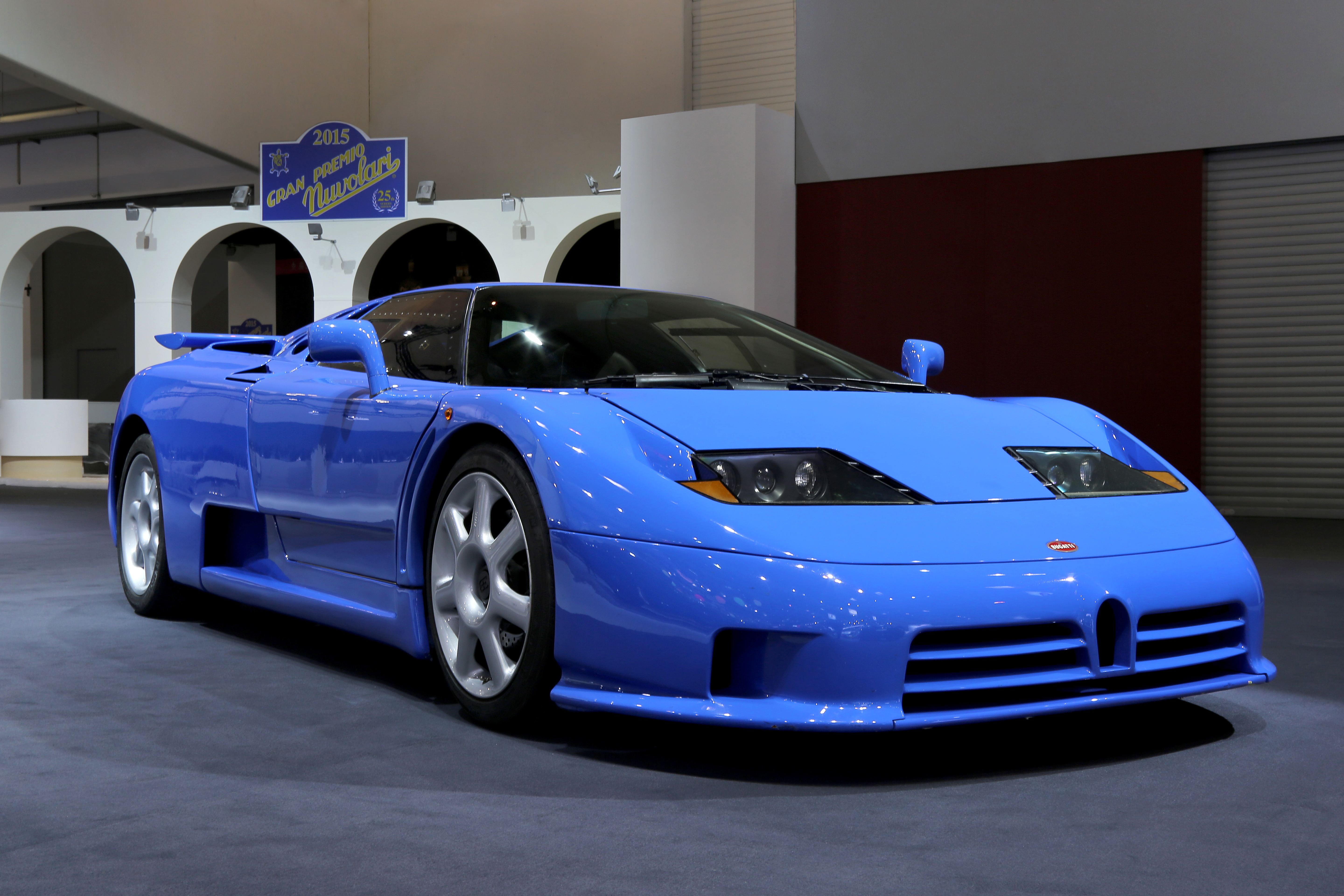 Bugatti EB 110S - Approximately 140 units of the EB 110 were built between 1991 and 1995.