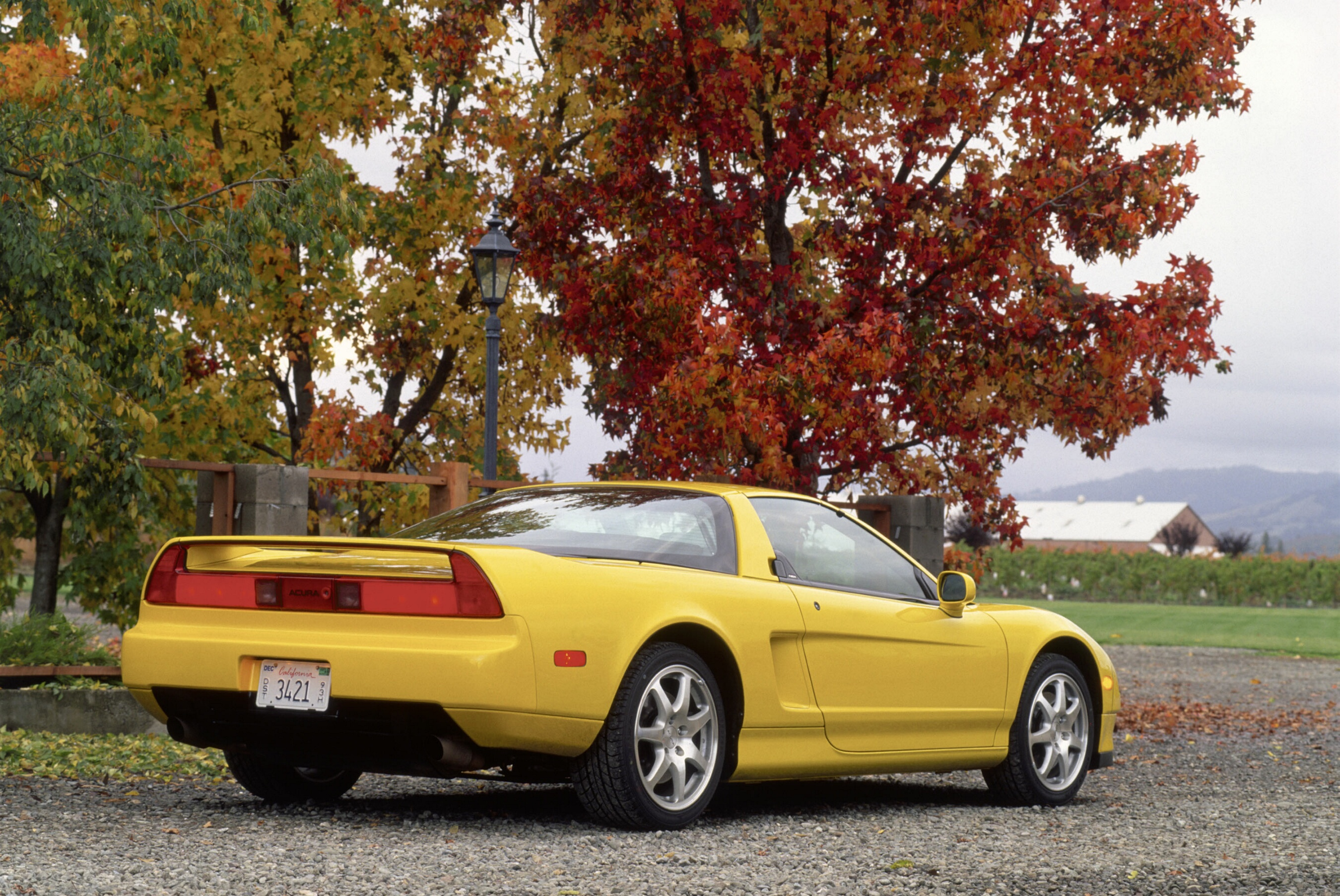The Acura NSX-T exotic sports car sets the performance and technology standards for all Acura models. Offered in two distinct engine-transmissions, an all-aluminum, 3.2-liter, 24-valve, DOHC V6 engine that generates 290 horsepower with a 6-speed, close ratio transmission and an optional 4-speed sequential SportShift automatic transmission coupled to an all-aluminum, 3.0-liter, 24-valve, DOHC V6 creating 252 horsepower. The NSX is a thoroughbred car for true enthusiasts.