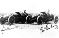 1910 Buick Bug Race Cars Piloted by Louis Chevrolet and Wild Bob
