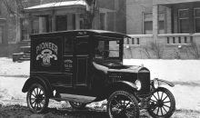 1917 Ford Model TT Panel Delivery truck