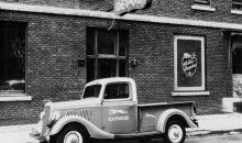 1935 Ford pickup truck Greyhound