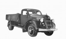 1935 Toyota Model G1 debuts two years before Toyota Motor Company was officially created