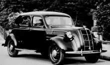 1936 Toyota Model AA – Toyota's first passenger car hits the road