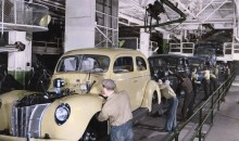 1940 Ford on Assembly Line