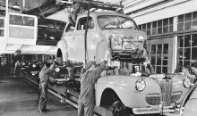 1941 – Ford Assembly Line Body Installation