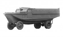 1943 Japanese war effort intensifies Toyota ordered to built aircraft engines and Su-Ki amphibious truck