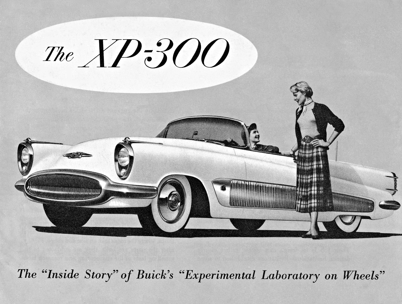 Buick Gallery 1954 Wildcat Ii Concept 1951 Xp 300 Car
