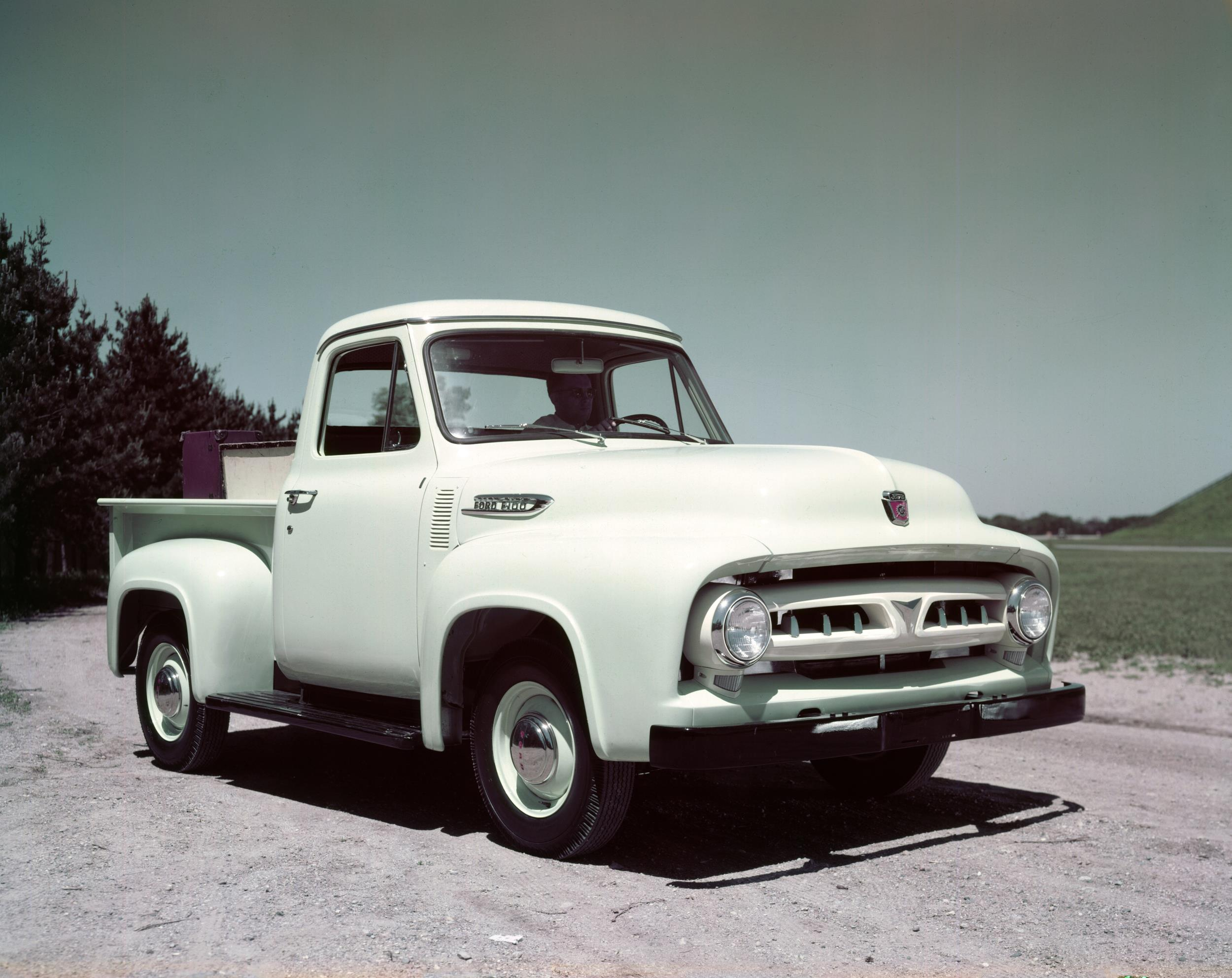 Ford Celebrates 100 Years Of Truck History 1954 F100 Pickup 1953