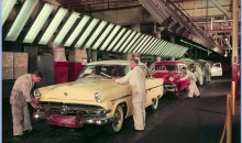 1954 – Ford Dearborn Assembly Plant Final Line