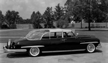 1954 Lincoln special Presidental limo