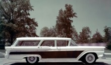 1959 Ford Country Squire clay model