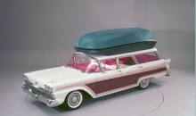 1959 Country Squire with push button station wagon living equipm