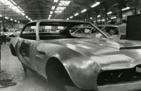 1969 ASTON MARTIN DBS on Assembly Line