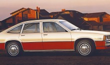1980 Chevrolet Citation Five-Door Hatchback Sedan