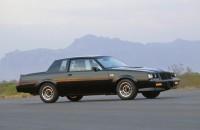 1987 Grand National – 3.8-liter turbocharged V-6, producing 245 horsepower