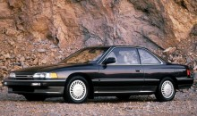 1987 Acura Legend Coupe.
