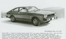1977 Toyota Corolla SR5 Sport Coupe