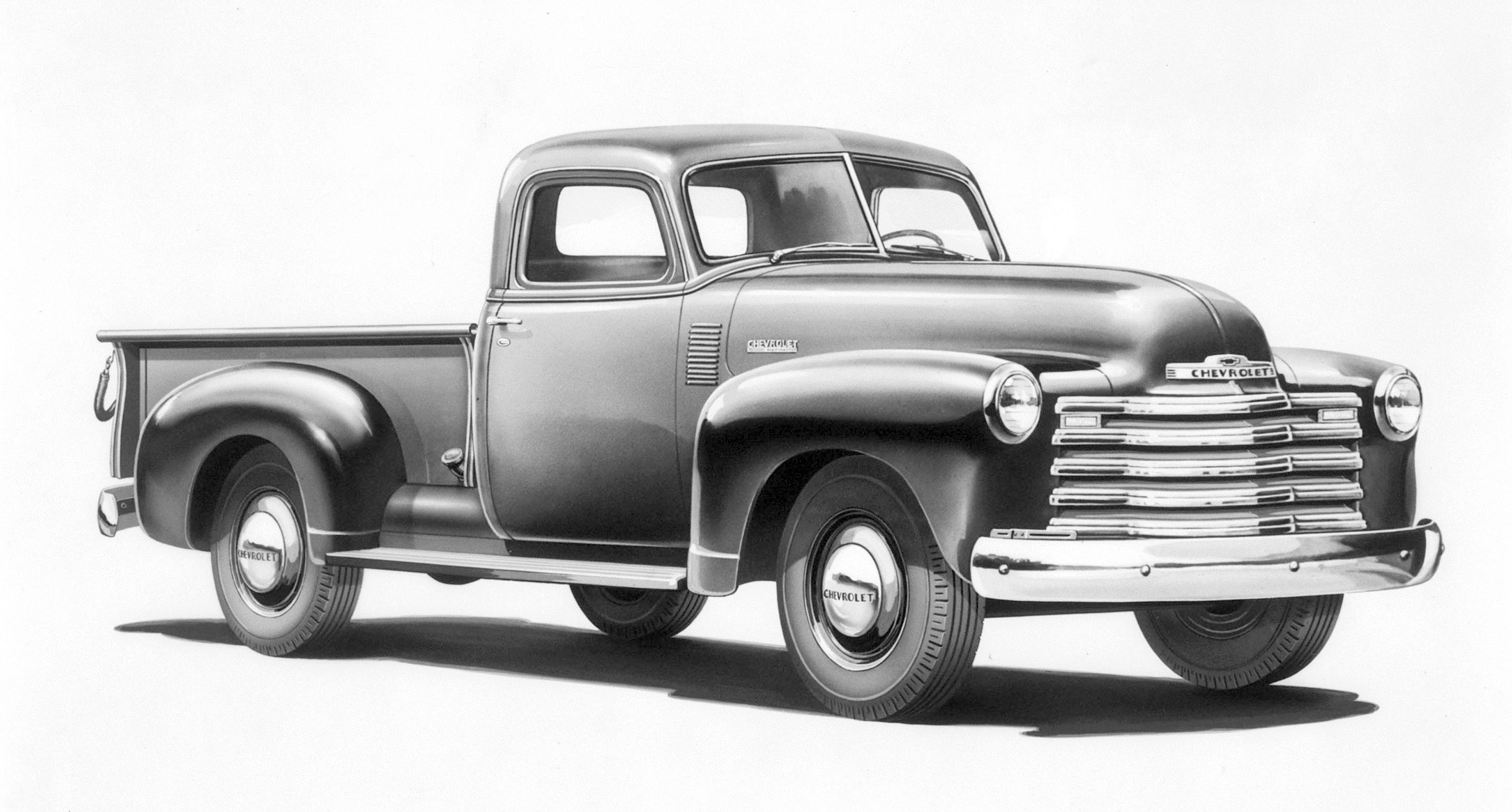 GMC's first all-new vehicles after World War II, Chevy's Advance Design trucks for 1948 were reliable, versatile and modern. The 3100 pickup was the farmer and workingmans four-wheeled friend.