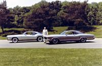 1963 Buick Riviera Silver Arrow and 1972 Buick Riviera Silver Arrow III
