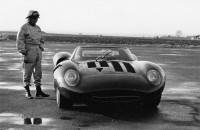 Jaguar XJ13 at Speed driven by Norman Dewis