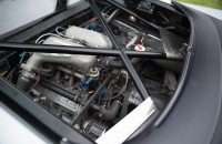 Jaguar XJ220 is powered by a twin-turbo V6