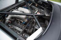 Jaguar XJ220 is powered by a twin-turbo V6