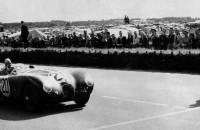 Jaguar C-type   winning at Le Mans 1951