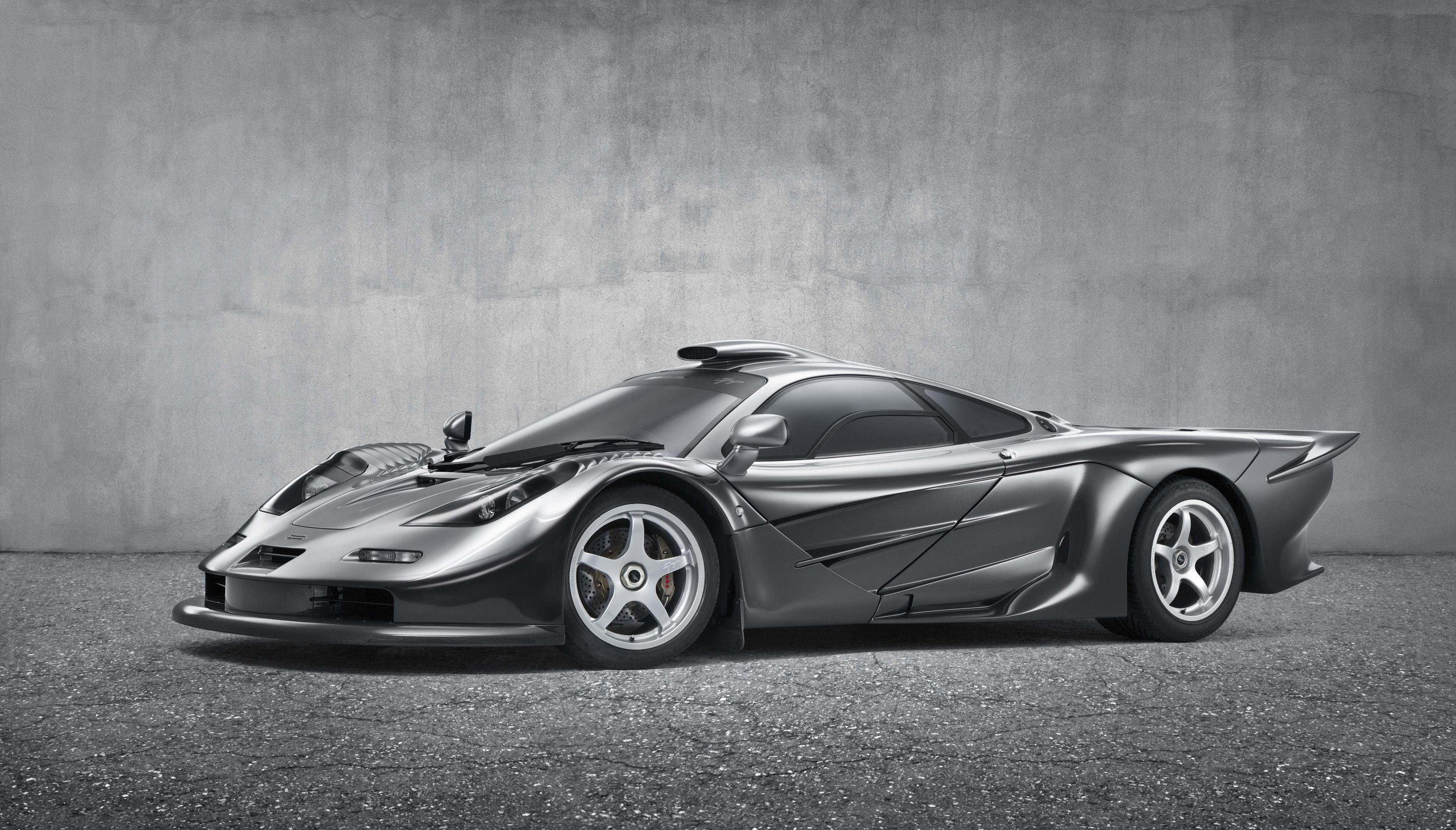 One of the rarest McLaren roadcars ever built, the McLaren F1 GT. Kindly loaned to McLaren for display at Goodwood, chassis #58F1GT is one of only three examples, designed and built to homologate the McLaren F1 GTR 'Longtail' for GT racing during the 1997 season. The livery echoes the famous monochrome design of the Formula 1 team during the late 1990s, driven to back-to-back world titles by Finnish racing driver Mika Hakkinen in 1998 and 1999.