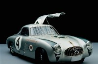 Mercedes-Benz 300 SL, 1952, 6 cylinders, 3 liters, 175 hp, top speed 152 mph