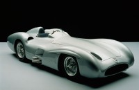 Mercedes-Benz Formula 1 Streamlined Race Car W 196 R, 8 cylinders, 2.5 liters, 290 hp, top speed 186 mph